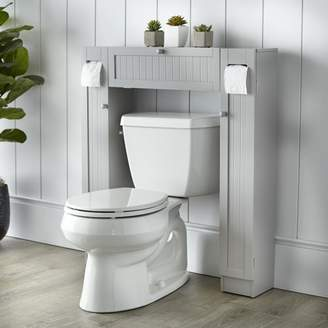 """Co The Twillery Eleanor Free Standing 34"""" W x 38.5"""" H Over the Toilet Storage"""