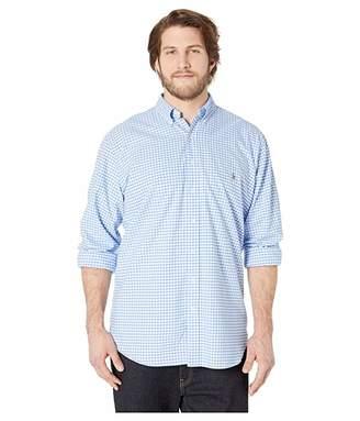 4b408eec8 Polo Ralph Lauren Big   Tall Big Tall Long Sleeve Poplin Sports Shirt