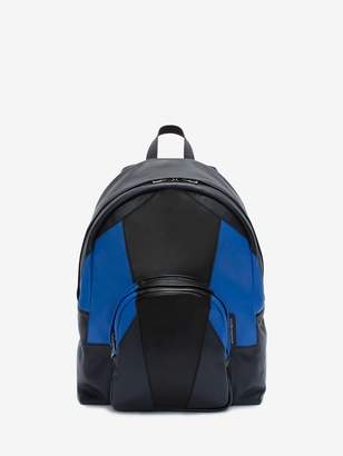 Alexander McQueen Small Patchwork Backpack