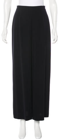 Chanel Chanel Wool Maxi Skirt