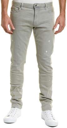 Armani Exchange Spotted Skinny Leg Pant