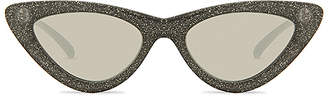 Le Specs x Adam Selman The Last Lolita Limited Black Glitter