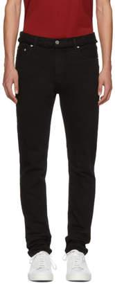 Christian Dada Black Signature Skinny Jeans
