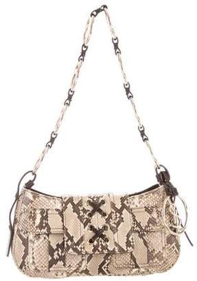 Saint Laurent Python Shoulder Bag