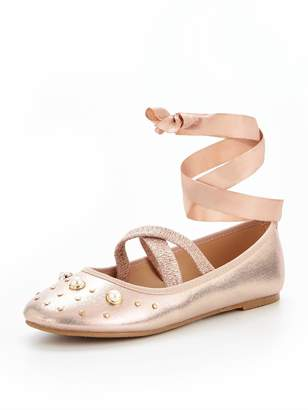 Very Poppy Pearl Ballerina Shoe