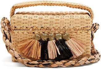 SANAYI 313 Carolsello tassel-trimmed straw bag