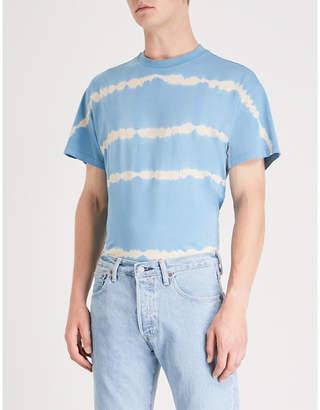 Sandro Tie dye-print cotton-jersey T-shirt