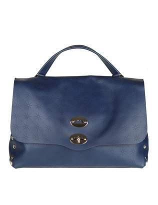 Zanellato Postina M astro In Leather Color Blue