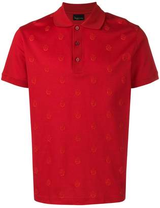 Billionaire crest polo shirt
