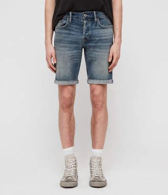 AllSaints Switch Denim Shorts