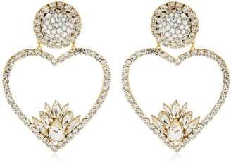 Shourouk Renata Crystal Clip-On Earrings
