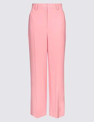 Marks and Spencer Ankle Grazer Straight Leg Trousers