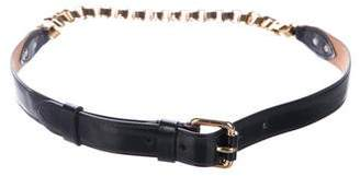 Louis Vuitton Leather Chain Belt