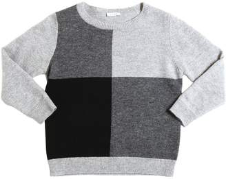Il Gufo Geometric Merino Wool Sweater