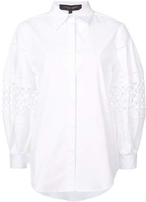 Carolina Herrera cut-out detail shirt
