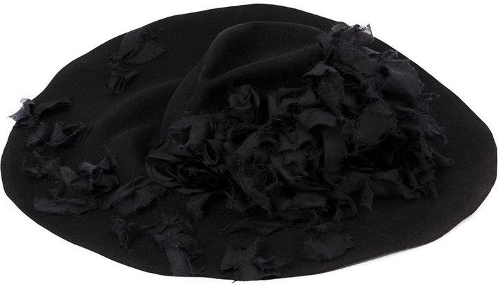 Horisaki Design & Handel floral embellished hat