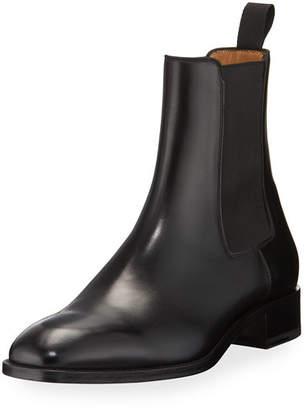 Christian Louboutin Samson Men's Gored Leather Boot