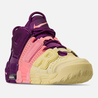 Nike Girls' Grade School More Uptempo SE Basketball Shoes