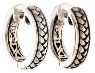 Scott Kay Equestrian Hoop Earrings