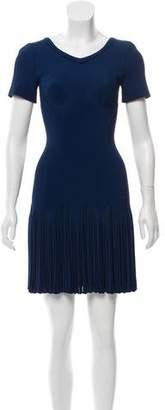 Alaia Rib Knit Fit and Flare Dress w/ Tags