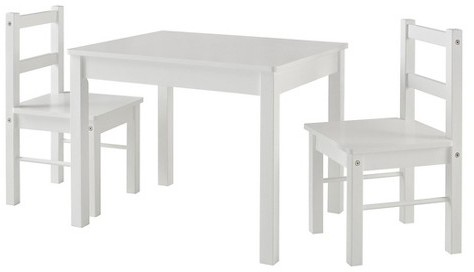 Cosco Cosco Hazel Kid's Table and Chairs Set - White