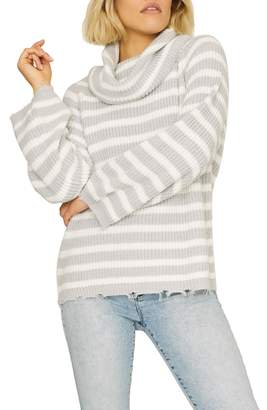 Sanctuary Jagger Cowl Neck Sweater