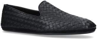 Bottega Veneta Leather Woven Loafers