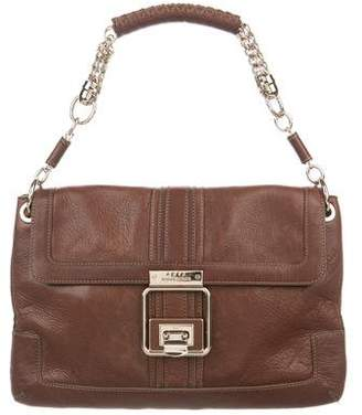 Anya Hindmarch Grained Leather Handle Bag