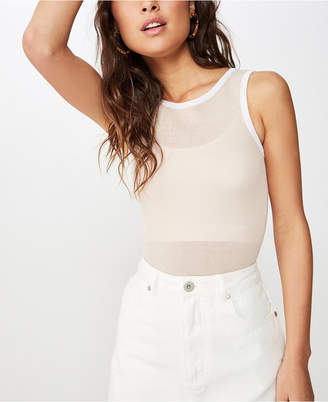 Cotton On Orla Open Back Knit Top