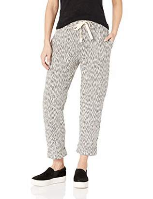 Three Dots Women's ZK6194 SLUB Stripe Mini Zebra Knit Pant