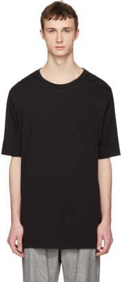 Faith Connexion Black Oversized Distressed T-Shirt