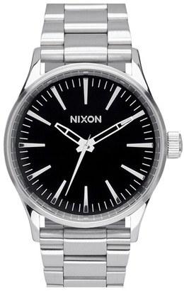 Men's Nixon 'The Sentry' Bracelet Watch, 38Mm $200 thestylecure.com