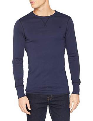 G Star Men's Korpaz Slim T-Shirt Long Sleeve Top