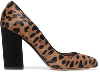 Tabitha Simmons Lydia Leopard-print Calf Hair And Suede Pumps - Leopard print