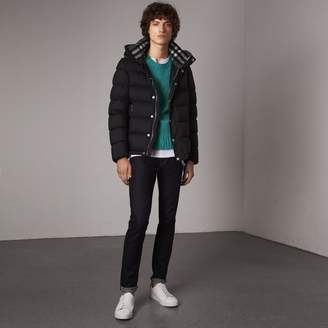 Burberry Detachable-sleeve Down-filled Puffer Jacket