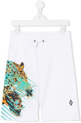 Marcelo Burlon County of Milan Kids tiger print drawstring shorts