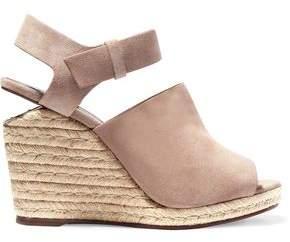 Alexander Wang Tori Suede Wedge Sandals
