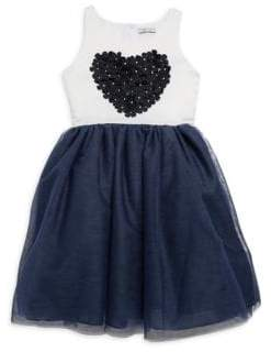 Little Girl's Amy Colorblocked Dress