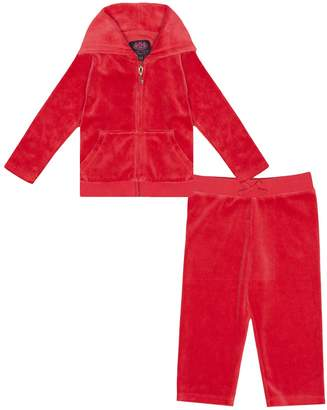 Juicy Couture Velour Royal Scottie Track Set for Baby