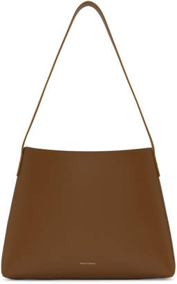 Mansur Gavriel Brown Small Hobo Bag