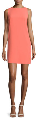 Trina Turk Sleeveless Open-Back Shift Dress $528 thestylecure.com