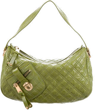 Marc Jacobs Marc Jacobs Quilted Patent Leather Ursula Hobo