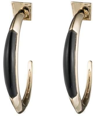 Alexis Bittar Crescent Hoop Earring