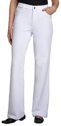 Denim & Co. Tall Comfy Knit Denim Boot-Cut Jeans