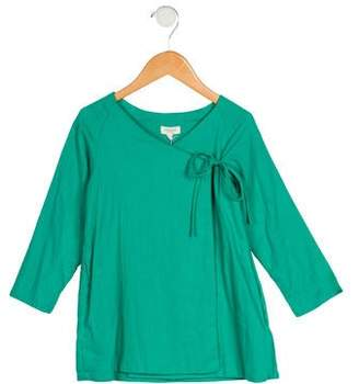 Tuchinda Girls' Long Sleeve Wrap Dress