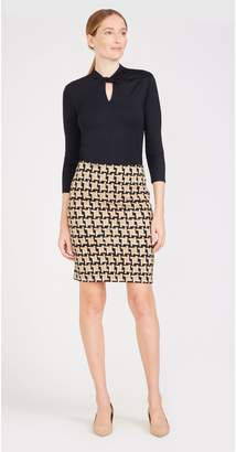 J.Mclaughlin Lucy Skirt in London Houndstooth