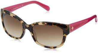 Kate Spade new york Women's Johanna Rectangular Sunglasses