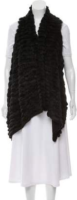 Jocelyn Knitted Fur Vest