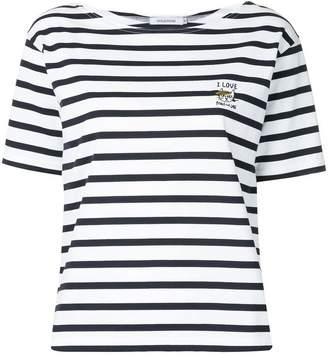 GUILD PRIME x SANDER STUDIO stripe short-sleeve T-shirt