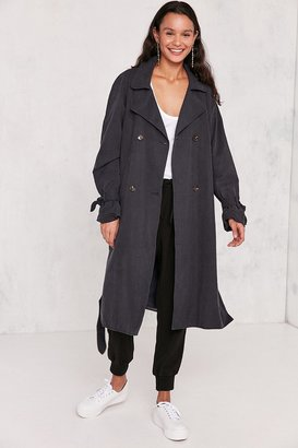 Kimchi Blue Clemmie Trench Coat $139 thestylecure.com